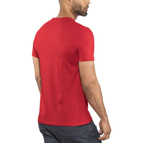 Meru Tumba Wool SS Shirt Men barbardos cherry